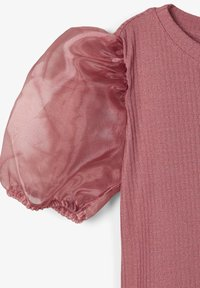 Name it - SLIM FIT PUFFÄRMEL - Blouse - withered rose - 2