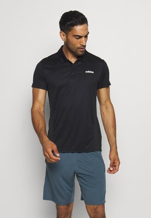 TRAINING SPORTS SHORT SLEEVE  - Funktionstrøjer - black/white