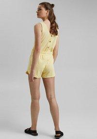 edc by Esprit - Shorts - light yellow - 2