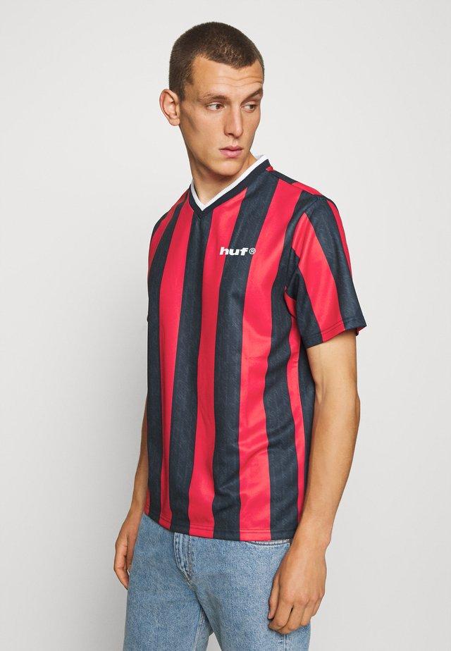 DIEGO SOCCER - Camiseta estampada - true red
