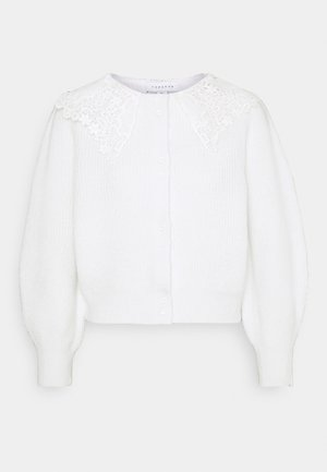 CROCHET COLLAR  - Jumper - ivory