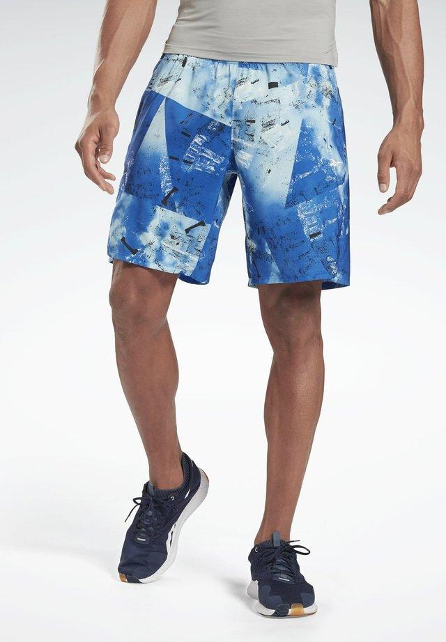 EPIC - kurze Sporthose - blue