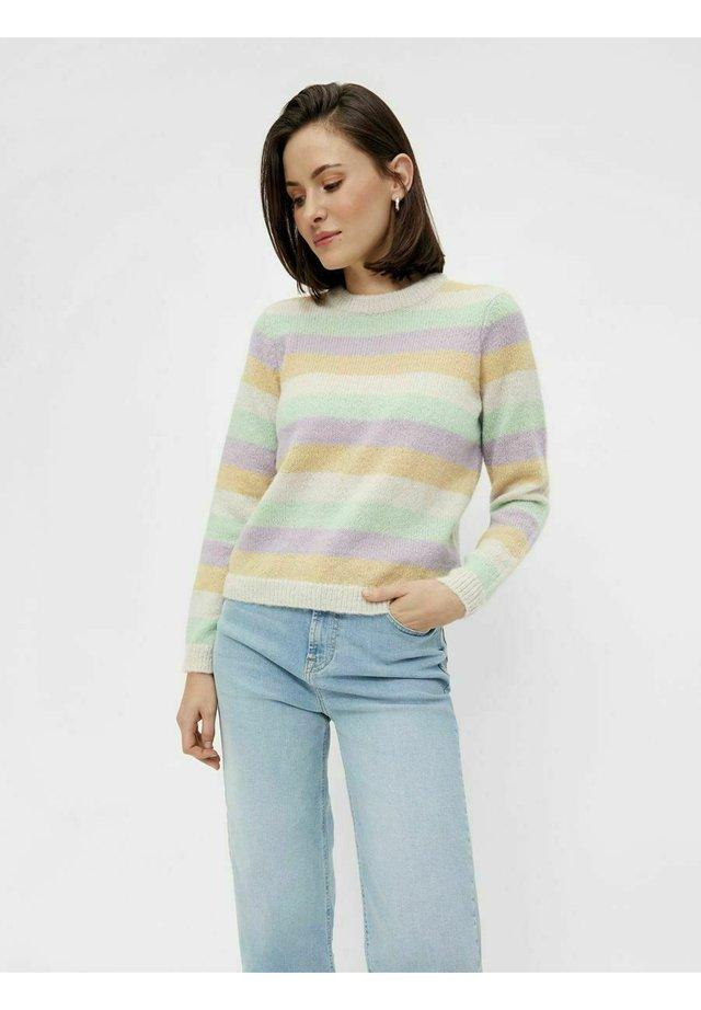 Sweter - pastel green