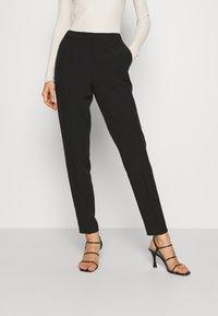 Bruuns Bazaar - RUBY VIGGA PANT - Trousers - black - 0