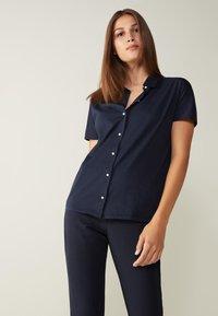 Intimissimi - AUS SUPIMA®ULTRAFRESH - Polo shirt - blu intenso - 0