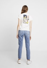 RVCA - SMITH STREET - T-shirt med print - antique white - 2