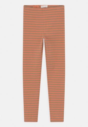 Leggings - Trousers - beige/peach