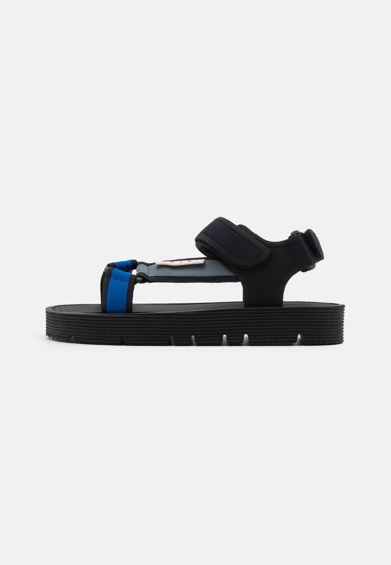 Marni - Sandales - black/zaffiro