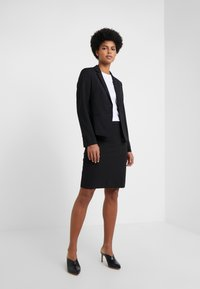 HUGO - THE SHORT JACKET - Blazere - black - 1