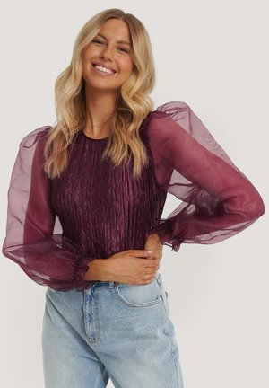 Blouse - dark purple
