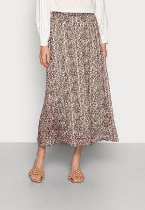 KALINE SKIRT - A-line skirt - red, light pink
