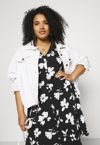 Anna Field Curvy - Day dress - black/white - 3