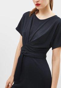 Bershka - MIT SCHLEIFE - Day dress - black - 3