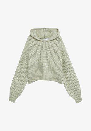 CAPUCHINO - Hoodie - pastellgrün