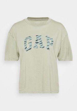EASY TEE - Camiseta estampada - desert sage