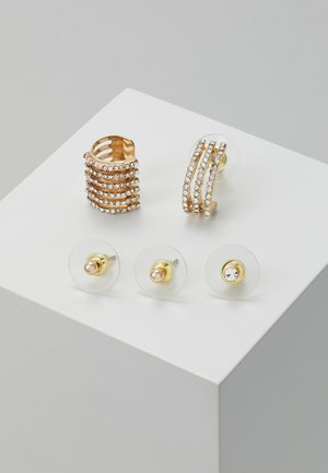 GUSTORY 5 PACK - Earrings - gold-coloured