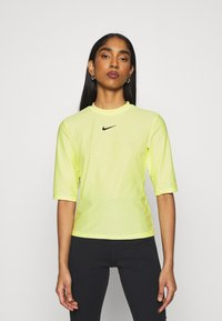 Nike Sportswear - T-shirt imprimé - light zitron/black - 0