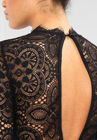 WAL G. - DETAIL MINI DRESS - Vestido de cóctel - black - 4
