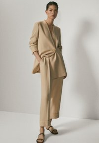 Massimo Dutti - Trousers - beige - 1