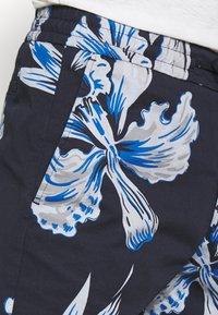 NN07 - SEB SHORTS  - Shorts - navy print - 4
