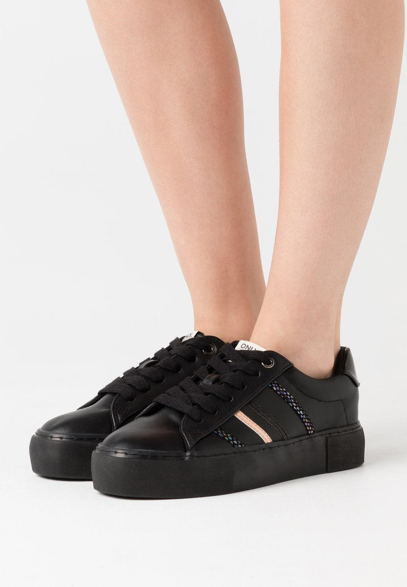 ONLY SHOES - ONLLIV - Zapatillas - black