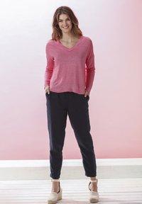 Rosa & Me - AMELIE - Long sleeved top - pink lemon - 1