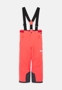 Jack Wolfskin - GREAT SNOW PANTS KIDS - Skibroek - flashing pink - 0