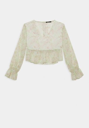 EXCLUSIVE ARCHER - Blouse - green ditsy