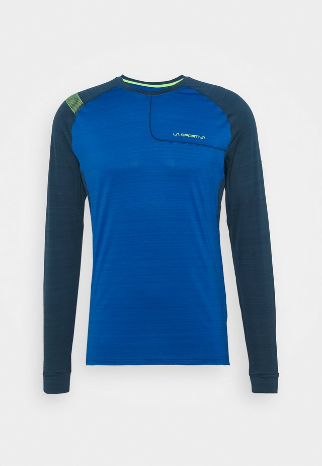 TOUR LONG SLEEVE  - T-shirt de sport - aquarius/opal