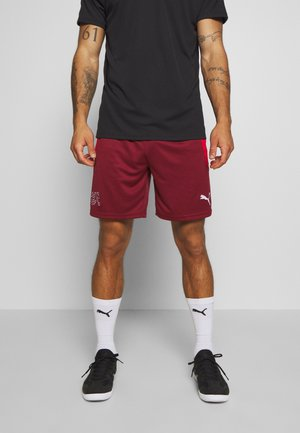 SCHWEIZ SFV HOME REPLICA - Träningsshorts - pomegranate/puma red