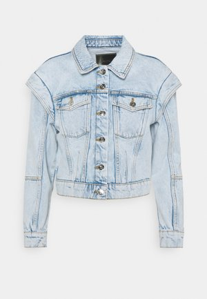 ONLBRODY SHOULD DETAIL - Denim jacket - light blue denim