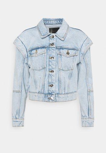 ONLBRODY SHOULD DETAIL - Denim jacket - light blue denim