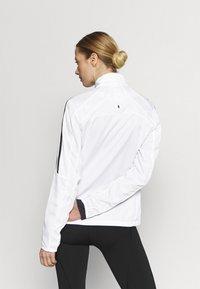 adidas Performance - MARATHON  - Sports jacket - white - 2