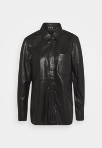 Ivy Copenhagen - KYLIE - Button-down blouse - black - 0
