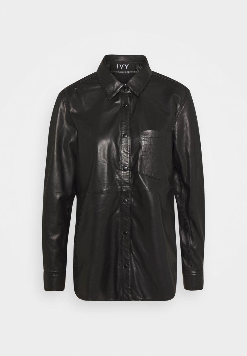 Ivy Copenhagen - KYLIE - Button-down blouse - black
