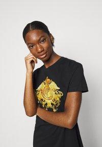 Versace Jeans Couture - LADY DRESS - Jerseyjurk - black - 3