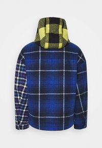 Tommy Jeans - MIX PLAID JACKET UNISEX - Lett jakke - twilight navy/multi - 1