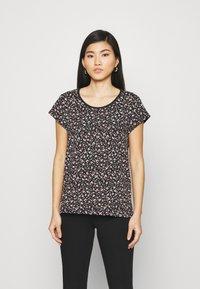 edc by Esprit - COO CORE - Print T-shirt - black - 0