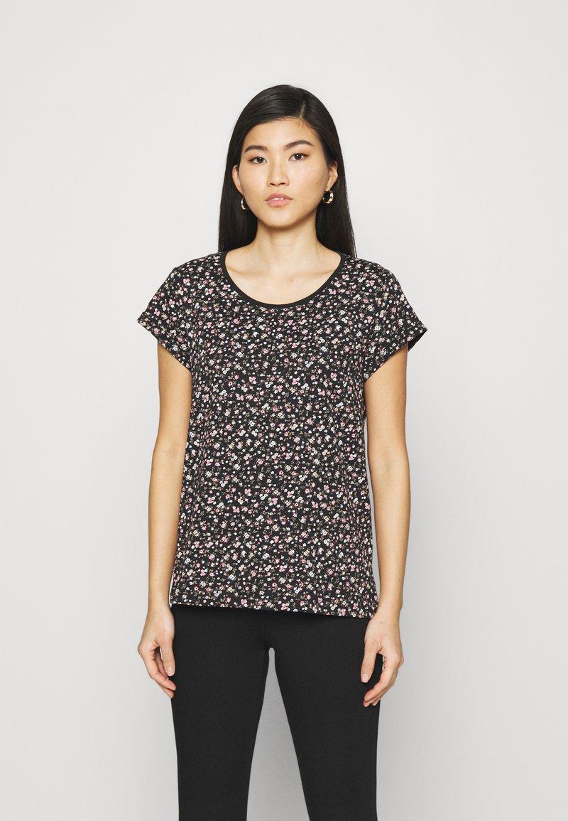 edc by Esprit - COO CORE - Print T-shirt - black