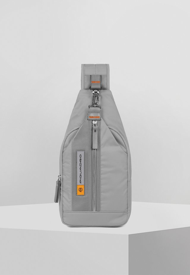 PQ-BIOS UMHÄNGETASCHE 20 CM - Across body bag - grey