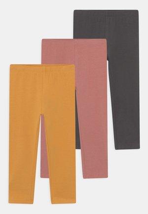 3 PACK - Legging - fawn/golden apricot/asphalt