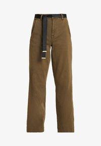 Ivy Copenhagen - AUGUSTA PANT - Trousers - army - 3