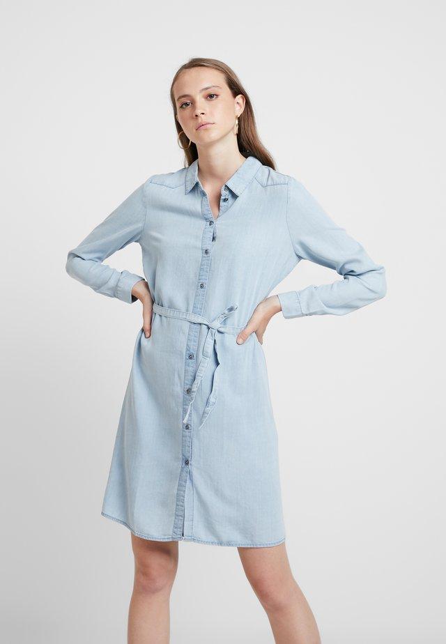 Day dress - medium blue denim