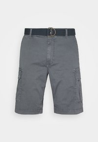Petrol Industries - WITH BELT - Shorts - wolf grey - 5