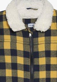 Friboo - Zimní bunda - mineral yellow/black iris - 2