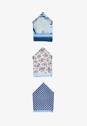JACJONAS HANKIE BOX 3 PACK - Pocket square - cashmere blue
