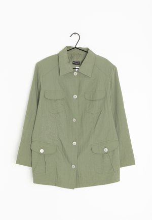 Halflange jas - green