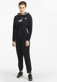 Puma - Zip-up hoodie - puma black - 1