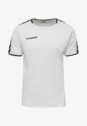 HMLAUTHENTIC - T-shirt print - white