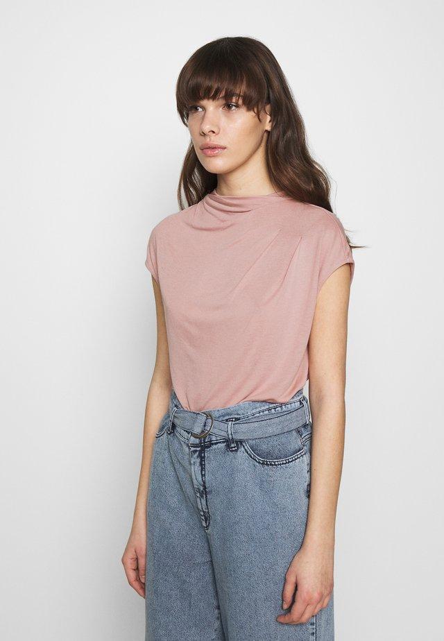 POPEEY - Basic T-shirt - dusky pink
